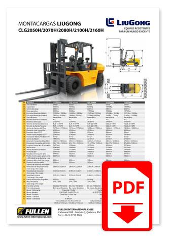 Catálogo Montacargas LiuGong CPCD25-30-35A